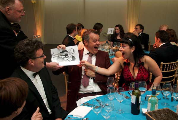 Hire a Caricaturist this Christmas
