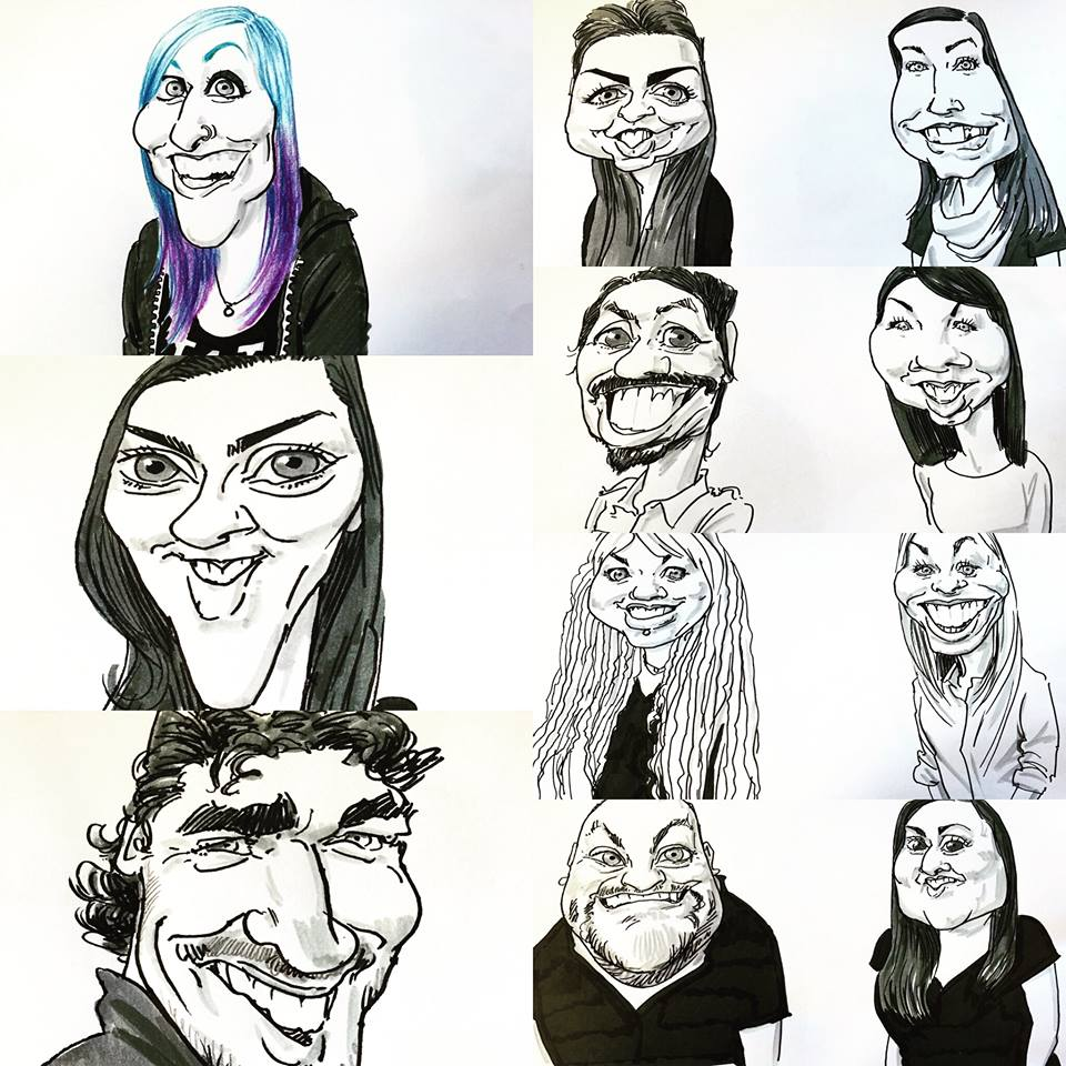 Jonathan the Caricaturist