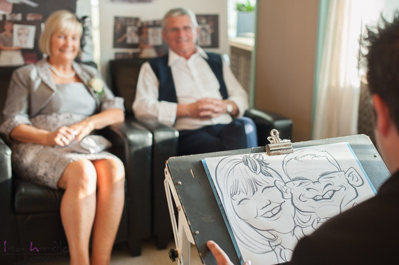 wedding-caricaturist