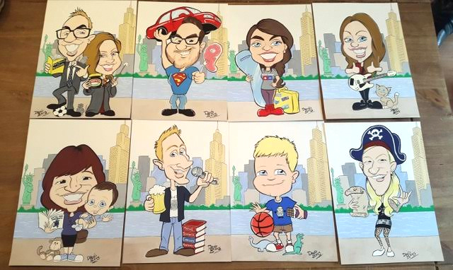 wedding-favour-caricatures